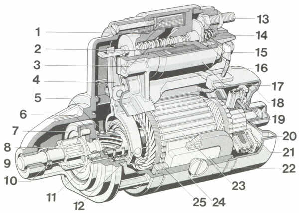 2v Anlasser Pr 252 Fen