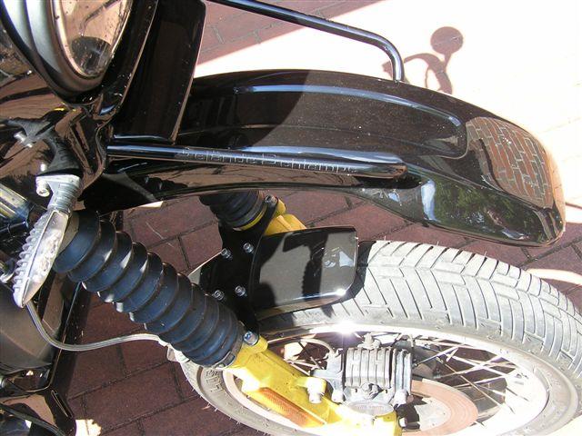 1200GS Lampenmaske an R100GS