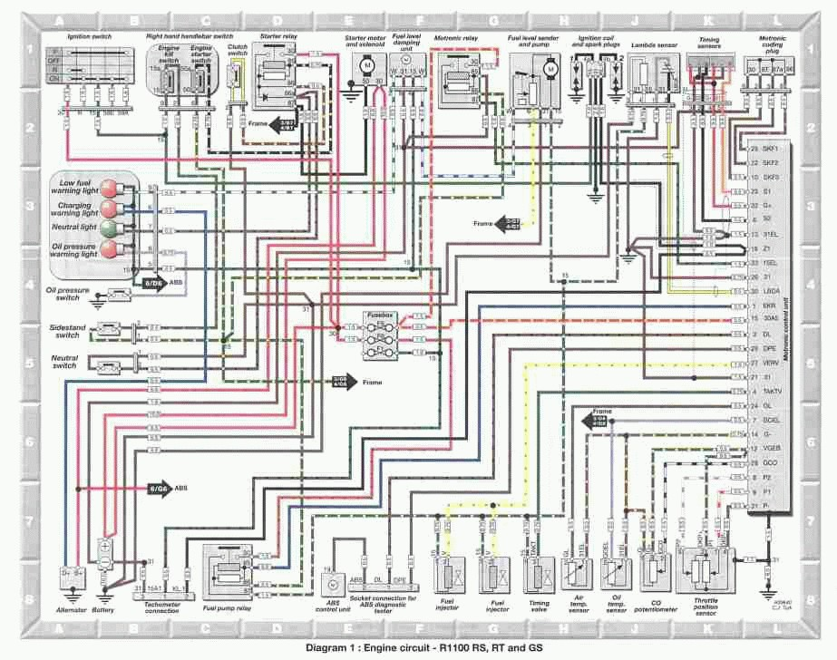 r1100rt wiring diagram   22 wiring diagram images