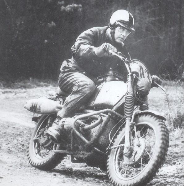 Kurt Tweesmann auf der Six Days 1966
