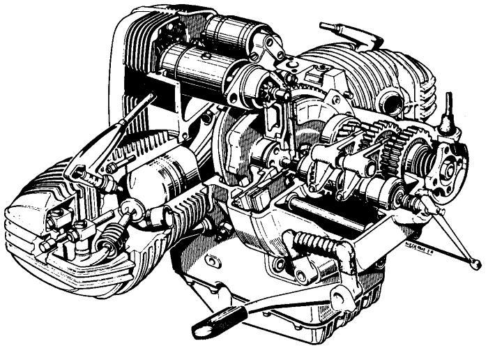 Neuer Boxermotor