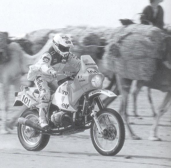 Gaston Rahier während der PD 1987