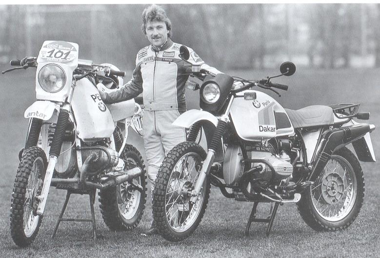 Gaston Rahier 1984 mit dem PD-Replika